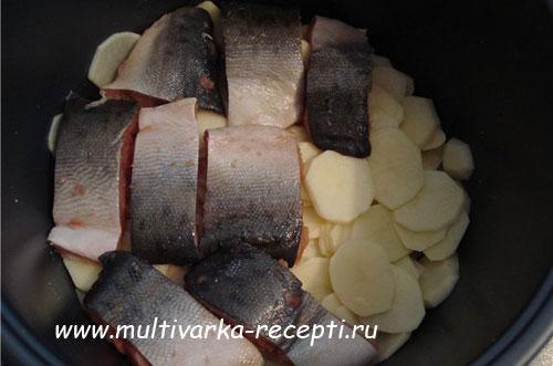 горбуша в мультиварке рецепты с соусом