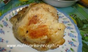 Запеченная свинина в маринаде в мультиварке