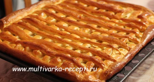 Пирог из дрожжевого готового теста с яблоками рецепт с пошагово в духовке