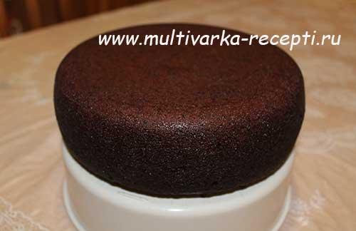 рецепты для мультиварки торт шоколад на кипятке