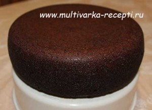 Бисквит Шоколад на кипятке в мультиварке