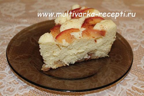Шарлотка с яблоками рецепт в мультиварке скарлет