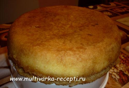 Кекс бисквитный в мультиварке рецепты с фото