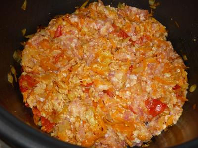 Блюда с мясным фаршем в мультиварке рецепты