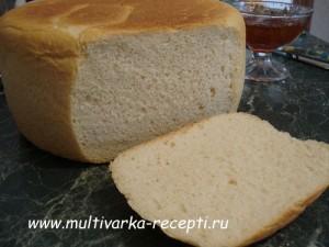 Хлеб на молоке в мультиварке