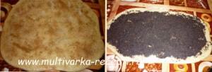 Разборный пирог с маком и корицей