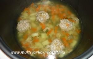 Детский суп в мультиварке