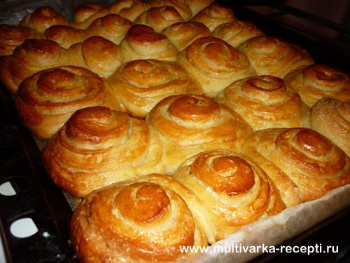 Рецепт выпечки сладких булочек