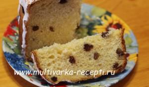 Кулич пасхальный (рецепт для духовки)