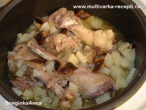 Индейка с картофелем в мультиварке рецепты простые и вкусные