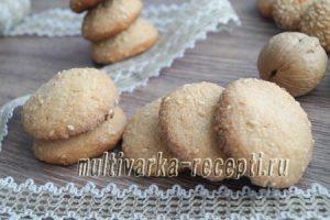 Кунжутное печенье — рецепты