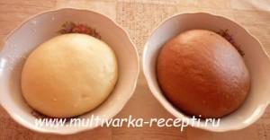 Сдобный хлеб с какао в мультиварке