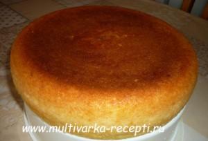 Творожно-манный пирог в мультиварке