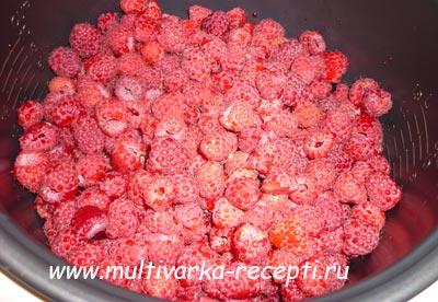Сколько получится варенья из 1 кг малины