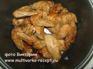 Крылья куриные в соевом соусе в мультиварке