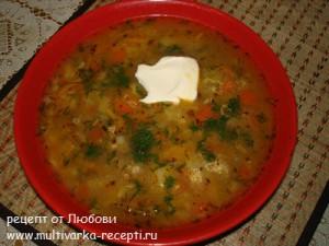 Суп «а-ля Харчо» в мультиварке