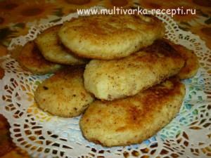 Картофельные пирожки (зразы) с печенью