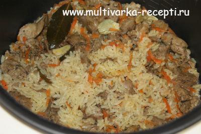 Как сделать рис с печенью 908