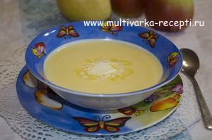 Тыквенный крем-суп в мультиварке
