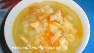 Детский рыбный суп в мультиварке