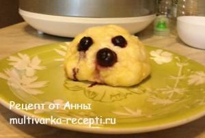 Десерт из творога в мультиварке