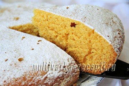 Тыквенный пирог\кекс в мультиварке