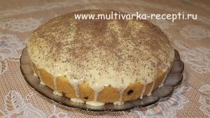 Масляный кекс в мультиварке