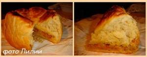 Дрожжевой пирог с капустой в мультиварке