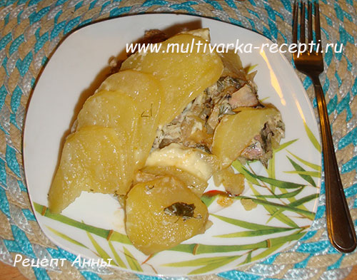 Мясо по-французски с лисичками в духовке рецепт