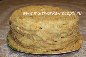 Торт «Наполеон» (рецепт для духовки)
