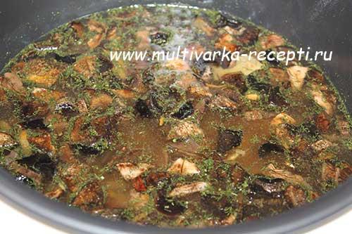 рецепт супа с пшеном и мясом