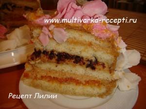 """Торт в мультиварке """"Сказки востока"""""""