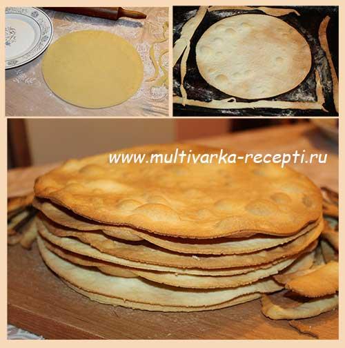 """Торт """"Банановый Наполеон"""" – кулинарный рецепт"""
