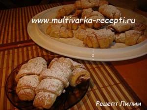 Рецепт творожных рогаликов для духовки