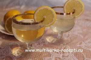 Напиток лимонный в мультиварке