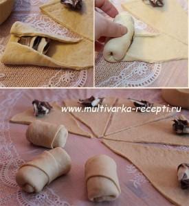 """Вкусные булочки с """"Нутеллой"""""""