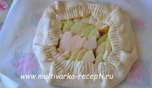 яблочная галета в мультиварке