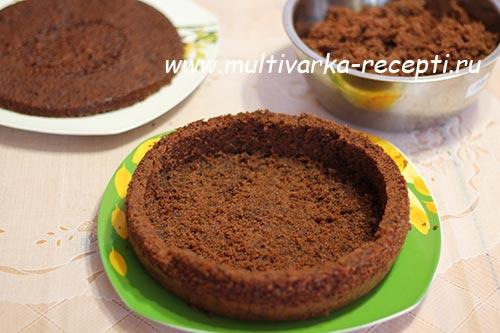 Шоколадный торт в мультиварке редмонд рецепт с фото