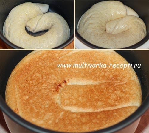 Дрожжевой пирог в мультиварке рецепты