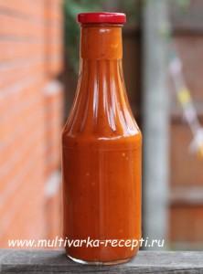 Домашний кетчуп в мультиварке