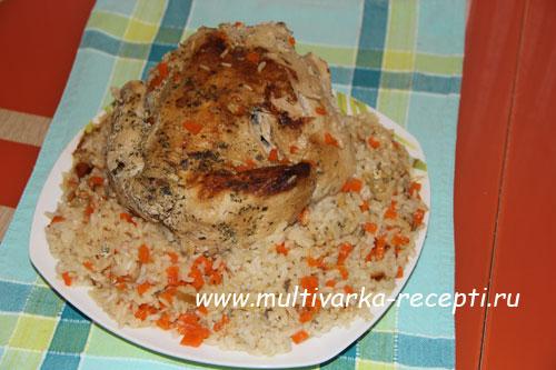 Курица целиком в мультиварке поларис рецепты с фото