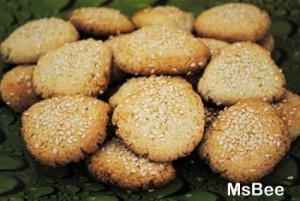 Кунжутное печенье «К завтраку»