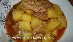 Азу по-татарски в мультиварке