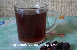 Напиток из шиповника в мультиварке