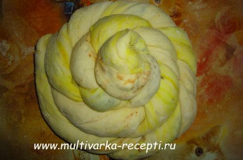мраморный-хлеб-с-грибами-в-мультиварке