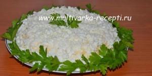 Салат с курицей Оля-ля