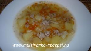 Суп для детей в мультиварке