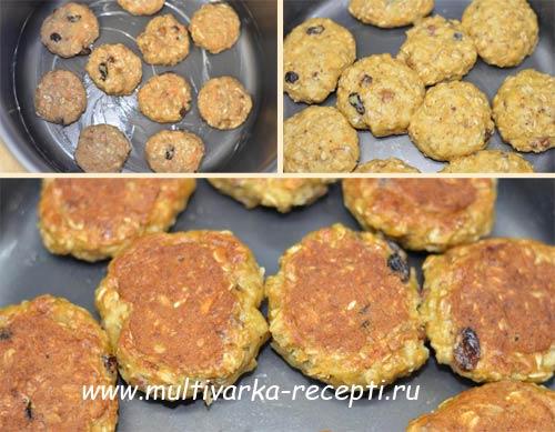 Овсяное печенье рецепт в мультиварке