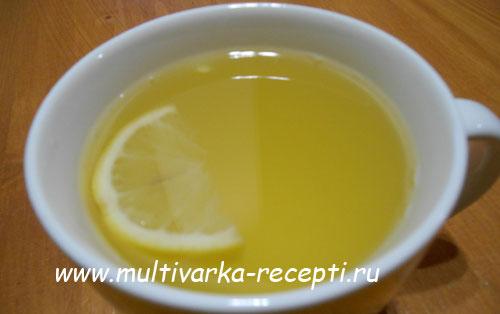 Имбирный чай в мультиварке