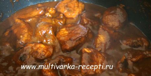 свинина в мультиварке в соевом соусе